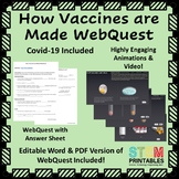 How Vaccines + Covid-19 are Made WebQuest