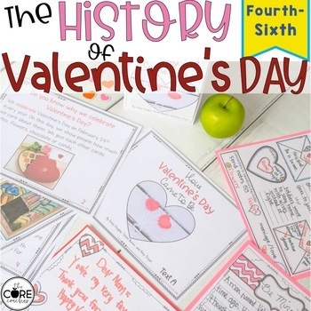 How Valentine's Day Came to Be- Lesson Plans for Upper Grades