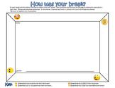 How Was Your Break?  Emojis
