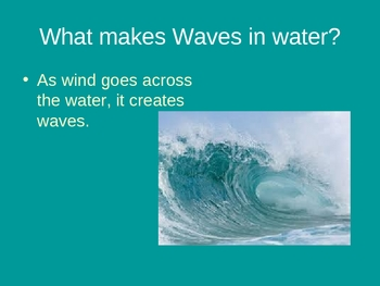 How Waves Form and Identifying Landforms created by waves