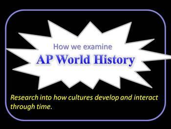How We Examine AP World History
