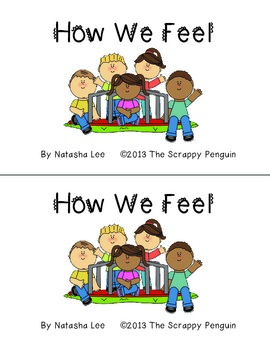 How We Feel-- Emergent Reader Book About Feelings
