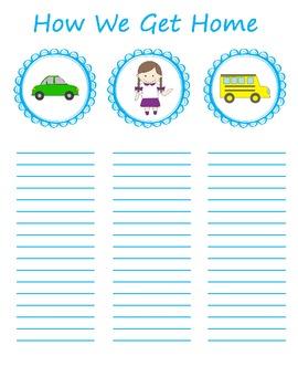 Transportation Poster: How We Get Home