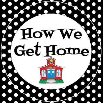 How We Get Home - Black and White Polka Dots