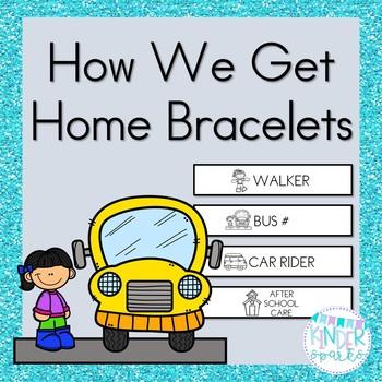 How We Get Home Bracelets