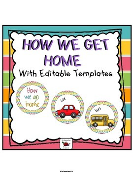 How We Get Home Chart Chevron (Posters/Signs)