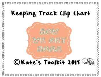 How We Get Home Clip Chart 1