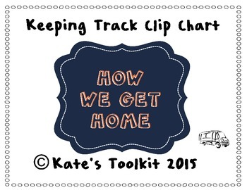 How We Get Home Clip Chart 3