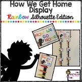 How We Get Home Display-Superhero Silhouette Theme