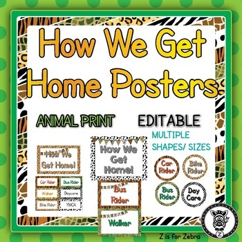 How We Get Home - Editable