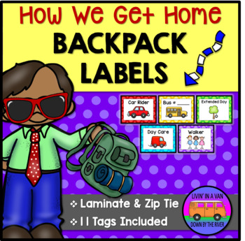 How We Get Home Labels