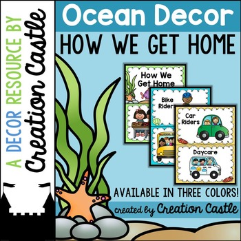 How We Get Home - Ocean Decor