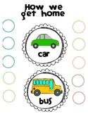 How We Get Home Transportation Organizer