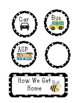 How We Get Home polka dot design