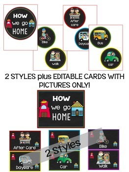How We Go Home Cards