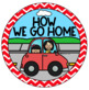 How We Go Home Clip Chart {Primary Colors Chevron Classroom Decor Theme}