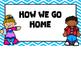 How We Go Home -Blue Chevron