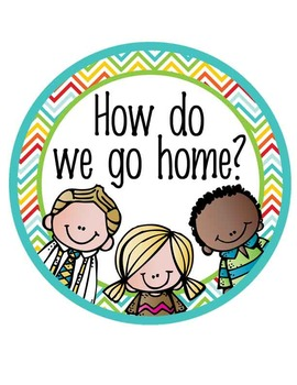 How We Go Home CLIP CHART - the BRAINY BUNCH