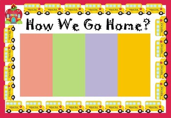 How We Go Home - Chart - Editable Posters