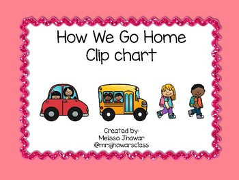 How We Go Home Chart - Pastel