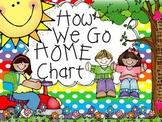 How We Go Home Chart and Editable Sub List
