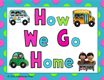 How We Go Home (Clip Chart)