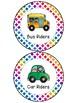 How We Go Home Clip Chart - Colorful Rainbow Theme Classroom