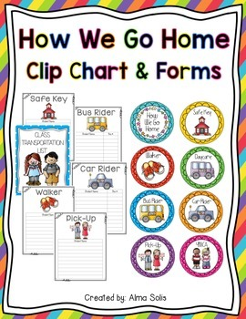 How We Go Home Clip Chart & Forms