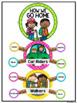 How We Go Home Clip Chart in a Polka Dot Classroom Decor Theme