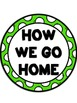 How We Go Home Clip Chart {Polka Dot and Lime}