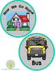 How We Go Home Clip Chart Set Gray Chevron