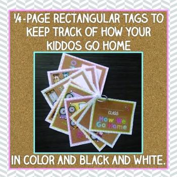 How We Go Home Clip Chart and Ring Organizer { Tribal Herringbone }