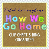 How We Go Home Clip Chart and Ring Organizer { Tribal Herr