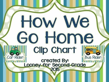 How We Go Home Clip Chart in Earth Tones