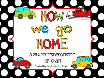 How We Go Home Clipchart and Student Labels
