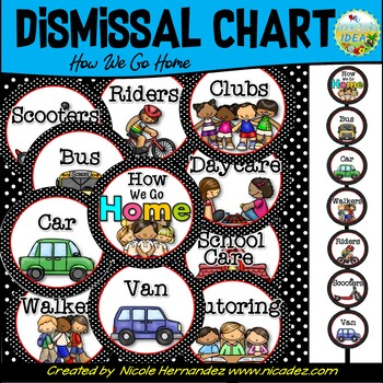 How We Go Home-Dismissal Clip Chart