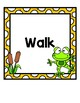 How We Go Home: Dismissal Clip Chart {Frog}