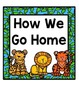 How We Go Home: Dismissal Clip Chart {Jungle Animals}