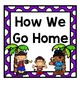 How We Go Home: Dismissal Clip Chart {Pirate}