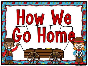 How We Go Home | Dismissal Clip Chart | Wild West