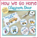 How We Go Home Display, Classroom Decor