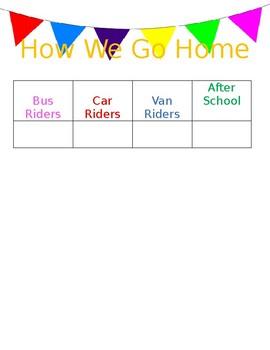 How We Go Home FREEBIE! *editable*