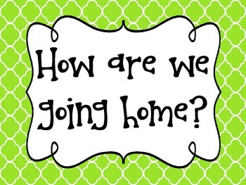 """""""How We Go Home"""" Labels & Sign"""