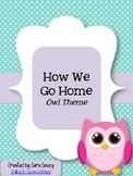 How We Go Home - Owls