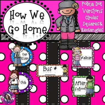 How We Go Home Polka Dot