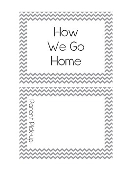 How We Go Home Recording Book with Chevrons