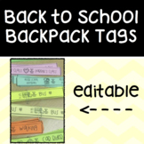 Back to School Transportation Tags (end of the day)