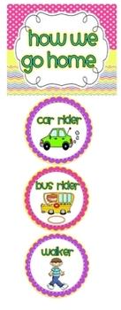 How We Go Home {Transportation Banner}