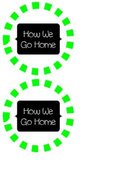 How We Go Home Transportation Circles