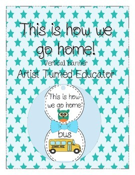 This is How We Go Home! Vertical Banner